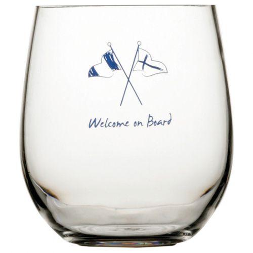 Marine Business - Glas, polykarbonat, Welcome on board