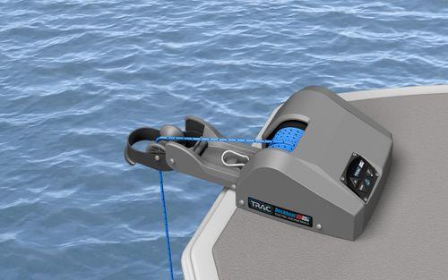 Trac - Ankerspil Trac, Deckboat 40