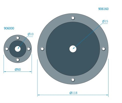 Roca - Kabelgenomföring i PVC