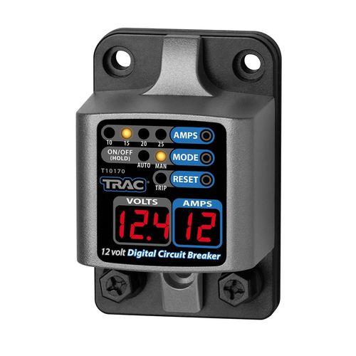 Trac - Huvudsäkring Trac, Digital med display, 10-25 Amp