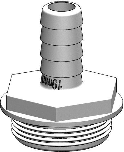 Tru-design - Slangsockel rak Aquavalve