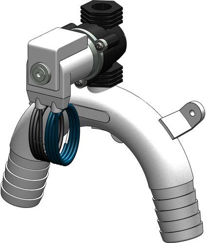 Tru-design - Vakuumventil med elektrisk avstängning