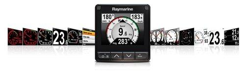 Raymarine - Raymarine i70s Startpakke, vind og trippelgiver