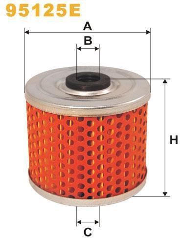 WIX Filtration - Bränslefilter 95125E