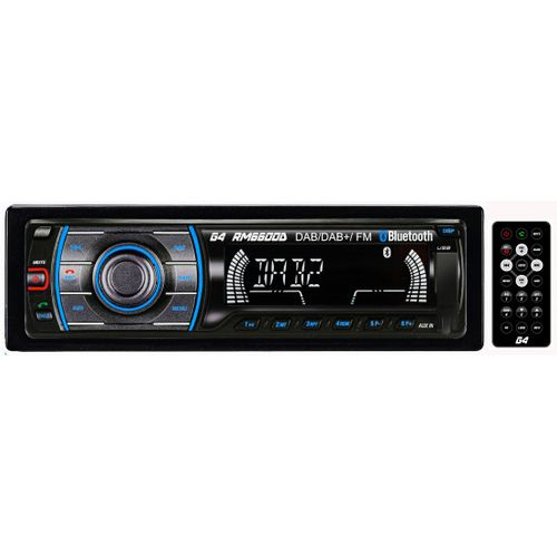 - Radio DAB+/FM Bluetooth, USB, 1 Din
