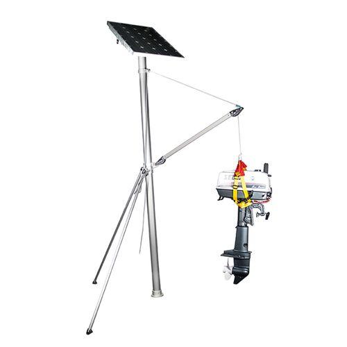 Båtsystem - Radarmastkit med kran och solcellsfäste