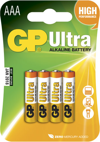 GP - Alkaliska batterier, GP