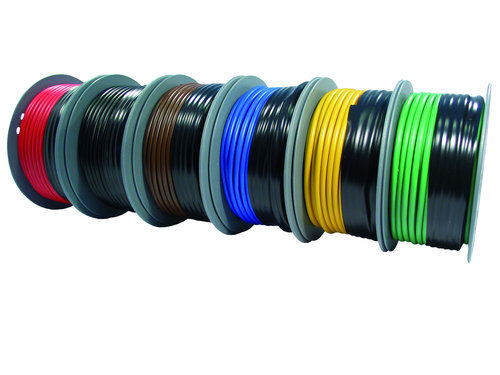 Skyllermarks - PVC-isolerad förtennad kabel
