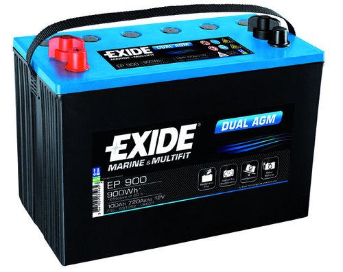 Exide/tudor - Exide Marine Dual AGM Batteri