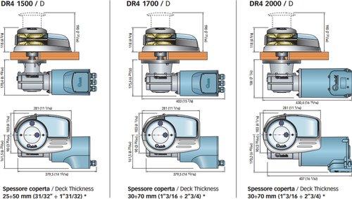 Quick - Ankerspil Dylan DR4 2000 W