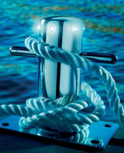 Båtsystem - Bryggpollare med eller utan belysning