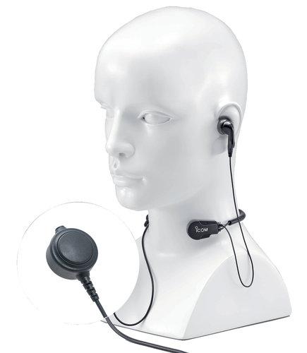 Icom - Headset HS-97 - Strupmikrofon
