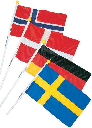 Adela Flagcenter - Facadeflagsæt