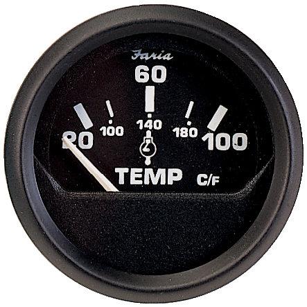 Faria - Cylindertemperatur-mätare