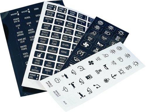 Roca - Etiketter med symboler eller tekst