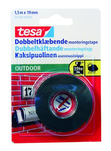TESA - Monteringstejp, dubbelhäftande, utomhus
