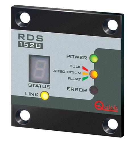 Quick - Batterilader panel fjernkontrol