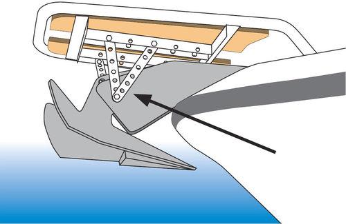 - Universalstag för motorbåtspeke