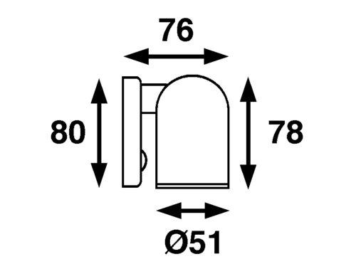 Båtsystem - Tube SMD LED 1,2W 8-30V