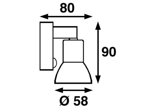 Båtsystem - Mini LED SMD MR16 8-30V