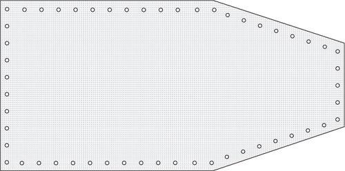Watski - Formsyet bådpresenning 240g/m2