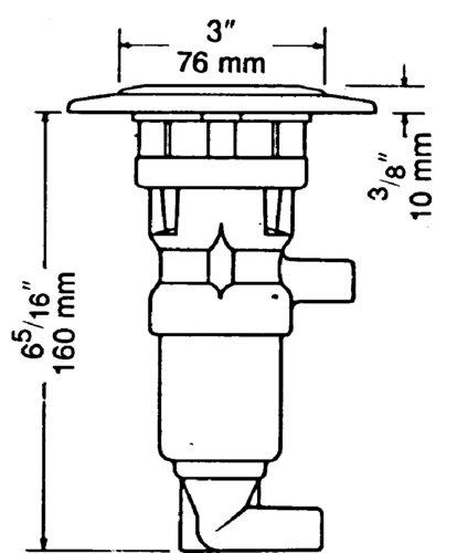 Whale - Fotpump MK4, GP 1309
