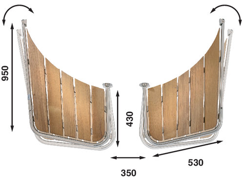 Båtsystem - Badplattform för snipa