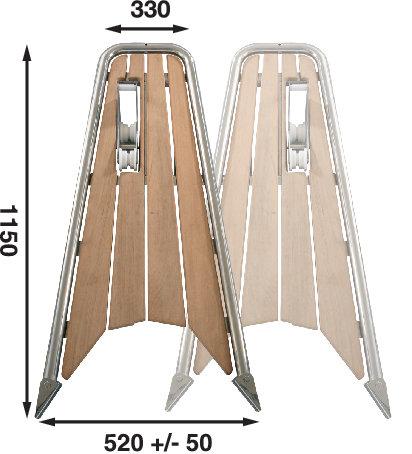 Båtsystem - Gennakerpeke för segelbåt