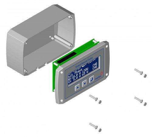 Rutland - Display för vindkraft controller