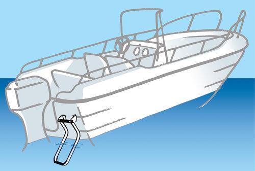 Båtsystem - Badstegar fällbara