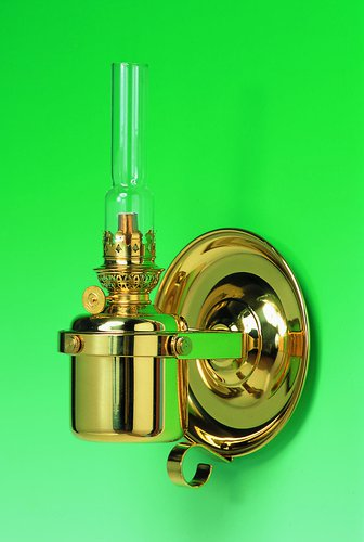 - Bord- og vegg parafinlampe