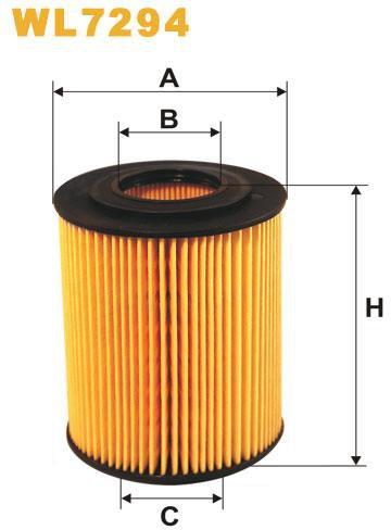 WIX Filtration - Oljefilter WL7294