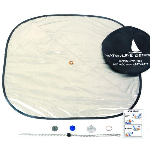 Waterline Design - Solskydd med ventilation för luckor - Waterline design