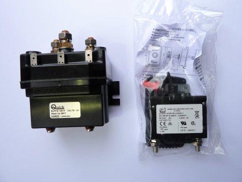 Quick - Ankerspil kit Balder 1200W