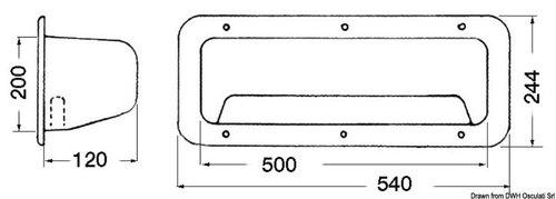 Osculati - Oppbevaringsboks