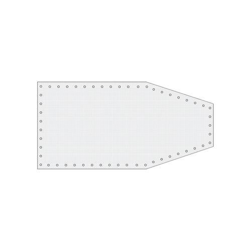 Nautec - Fasongsydd båtpresenning 240g/m2
