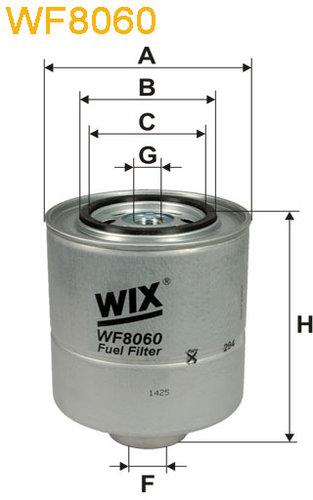 WIX Filtration - Brændstoffilter WF8060