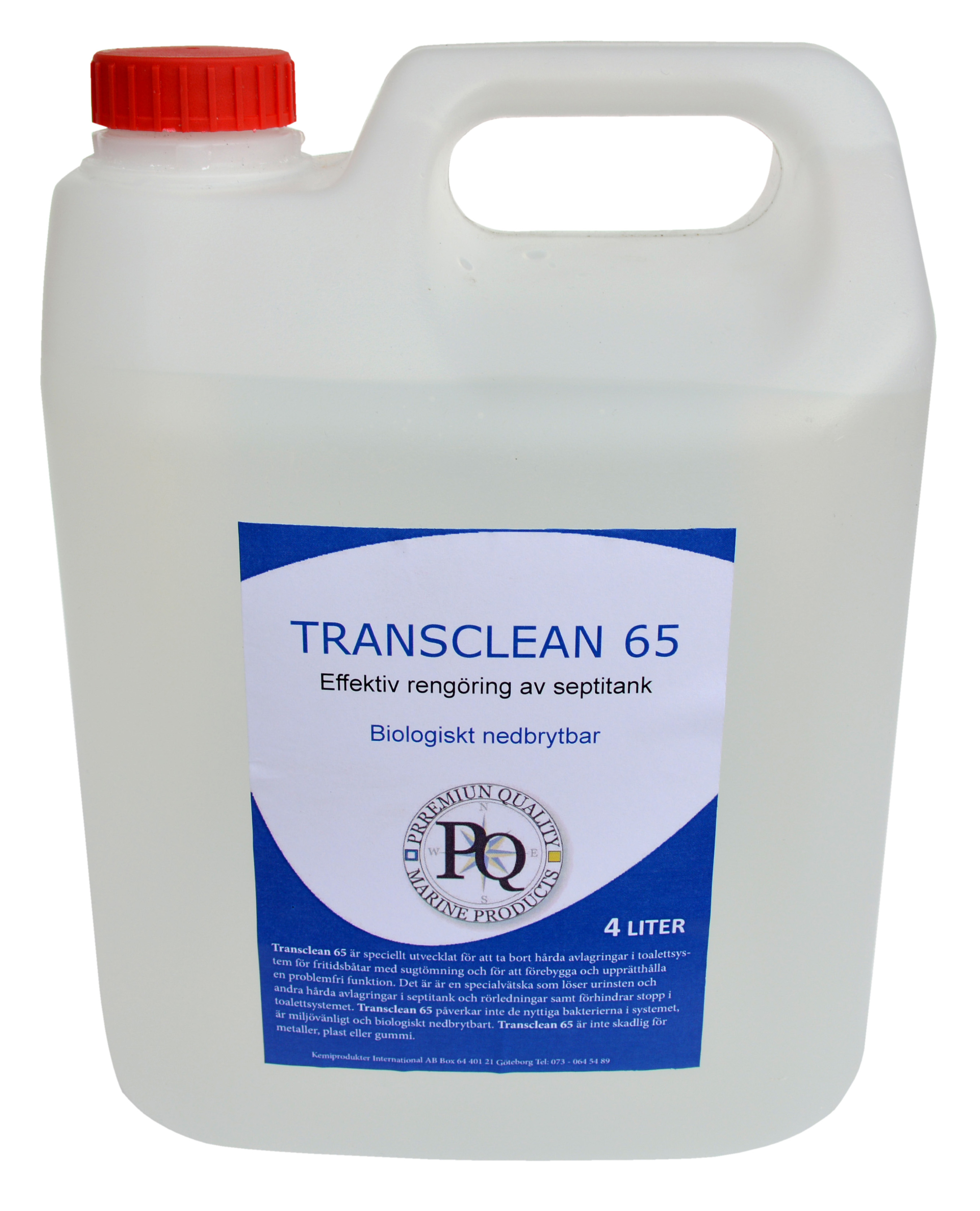 Transclean 65 Rengöringsmedel till toalett