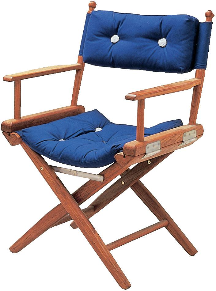 Sammenleggbar maritim stol med bord | FINN.no